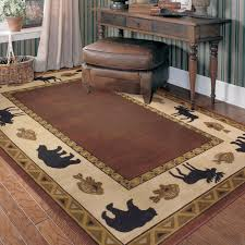 timely log cabin area rugs retreat rug for rustic