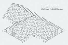 gable roof framing isometric building a plans for pergola