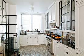 black and white floor tile kitchen. amazing chic white tile floor kitchen 21 perfect cabinets o in designs black and
