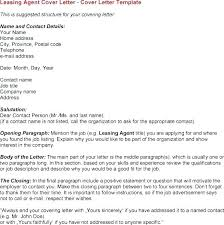 Entry Level Leasing Consultant Cover Letter Examples Vancitysounds Com