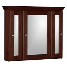 30 X 30 Medicine Cabinet Design House Ventura 30 In W X 30 In H X 6 In D Framed Tri View