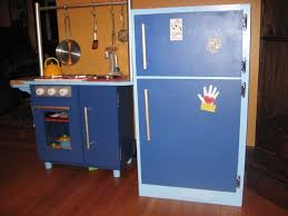 Homemade Play Kitchen Diy Play Refrigerator