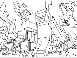 Minecraft Coloring Pages Coloring Sheets Free Imposing Design