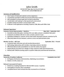 Sample High School Student Resume No Experience Gallery Examples
