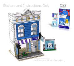 lego office building. Lego Office Building. OSS Dentist\\u0027s PDF Instructions And Sticker Pack Building