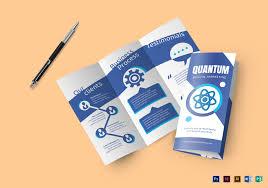 Design Brochure Template Flat Design Digital Marketing Brochure Template