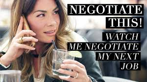 Negotiate This Watch Me Negotiate My Next Job Youtube