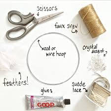 Materials For Making Dream Catchers how to make dream catchers Google Search Dream catching 6