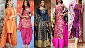 Banarasi Kurti Ke Design Latest Brocade Kurta Designs For Ladies New Collection Banarasi Kurti Ke Design