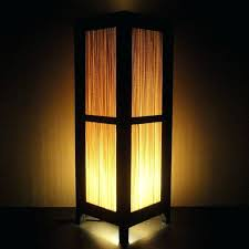 paper shade lamp large size of excellent tall oriental bamboo zen art bedside floor paper light shades paper lamp shade diy