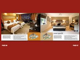 Hotel Brochure Designs Upmarket Bold Hotel Brochure Design For A Company By