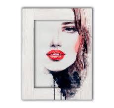 <b>Картина с Арт рамой</b> Лик девушки 60 х 80 см купить, цены в ...