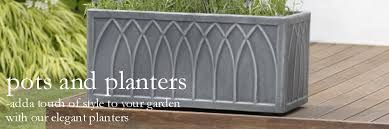 garden pots and planters
