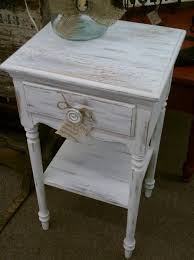 brilliant distressed white wood end tables distressed side table using white distressed white end tables prepare