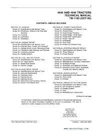 john deere 4640 4840 tractors technical manual tm1183 pdf repair manual john deere 4640 4840 tractors technical manual tm1183 pdf 1 enlarge