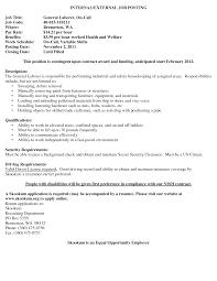 Laborer Resume Sample General Laborer Resume Skills Resume For Study 35