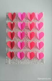 canvas wall art hearts