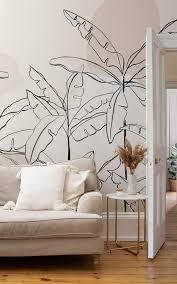 refreshingly modern wallpaper murals