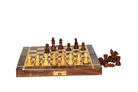 Classic Wooden Board Games Wooden Handmade Standard Classic Chess Board Game Foldable ishta 41