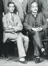 chaudry rehmat ali left and allama iqbal in cambridge in 1932 when the latter