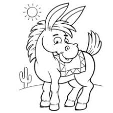 Small Picture Top 10 Free Printable Donkey Coloring Pages Online