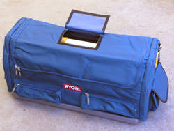 ryobi 18v tool case. once you have collected more than a few ryobi one+ tools, or if are just looking for handy portable tool bag to transport your tools from site 18v case