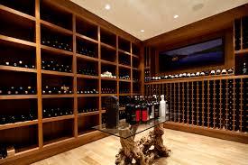 wine room lighting. Contemporary Wine Rooms Cellar With Wooden Racks Recessed Lighting Ceiling Room