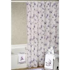 Brilliant Lavender Shower Curtains For Bath Inside Simple Design