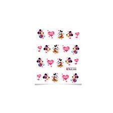 Vodolepky Na Nehty Obtisky Myšky Minnie Ble1696