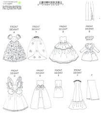Barbie Doll Clothes Patterns Inspiration Betsy Mccall Doll Barbie Dolls Clothes Patterns Free Printable Baby