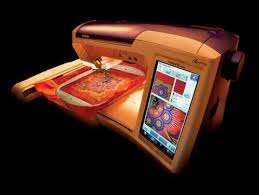 Sewing Machine as nearly a 3D printer - only touch screen talent ...