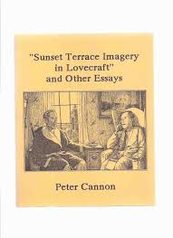 h p lovecraft robert howard clark ashton smith sunset terrace imagery in lovecraft and other essays necronomicon press h p lovecraft