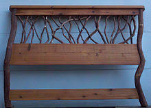 images of rustic furniture. Rustic Headboard For A Queen Size Bead With Cedar And Mountain Laurel Branches Posts. Images Of Furniture E