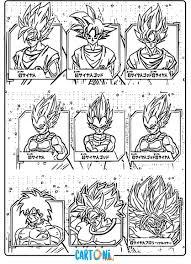 Dragon Ball Super Broly Disegni Dei Personaggi Cartoni Animati