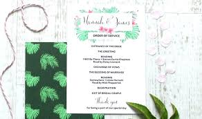 Booklet Program Template Wedding Church Booklet Template Ceremony Program Templates Free