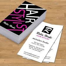 Hair Stylist Business Cards Best Of 37 Salon Card Regular Template