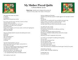 My Mother Pieced Quilts Poem - The Quilting Ideas & ... poetry channel poetry mother 2016 pics pictures images photos; my  mother pieced quilts poem the quilting database ... Adamdwight.com
