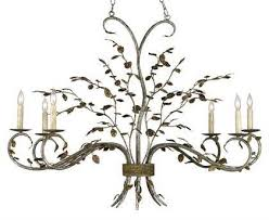 currey company raintree oval gold six light 43 wide