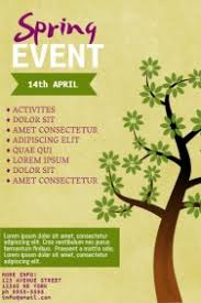 Spring Event Flyer 920 Customizable Design Templates For Spring Flyer Postermywall