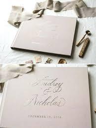 Wedding Guest Sign In Book Thumbprint Art Wedding Guest Book