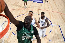 Image result for images of tacko fall celtics