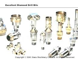 drilling holes in glass bottles drill bits for through diamond tools tapered how to