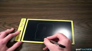 Boogie Board Memo Boogie Board LCD Writing Tablet Review and Showcasing YouTube 30