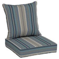 allen roth neverwet 2 piece deep seat patio chair cushion