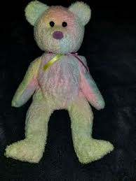 Used Ty Beanie Baby Rainbow Bear For Sale In San Jose Letgo