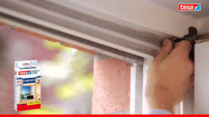Tesa Insect Stop Fliegengitter Klett Comfort Für Fenster Youtube