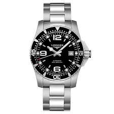 men s watches designer and swiss watches ernest jones longines hydroconquest men s bracelet watch product number 6081207