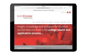 Crocker Web Design Web Design Bobbi Crocker College Consulting Graphic