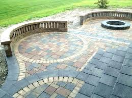 stone patio ideas image of patios designs with fire pit diy batter boards marking the patio layout diy stone