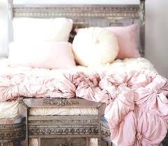 anthropologie rosette quilt bedding knockoff grey